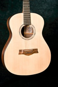 Sitka Spruce top on a Concert model - the Madagascar Rosewood bridge is beautiful.