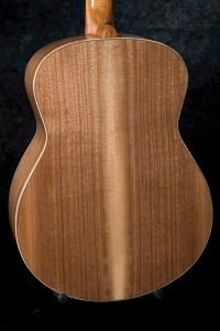 Claro Walnut back and sides on a Small Jumbo