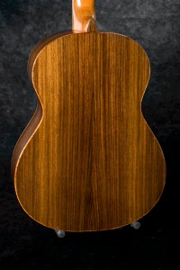 East Indian Rosewood back and sides.