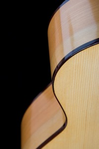Spanish Cypress back and sides and European Spruce top.