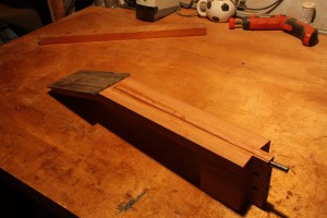 Another view of the tenon.