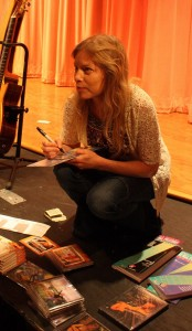 Muriel graciously signed all CDs and books and gave every attendee a set of guitar strings.Muriel has recorded a CD with flamenco duo Tierra Negra. It is called New World Flamenco and it is awesome - highly recommended!