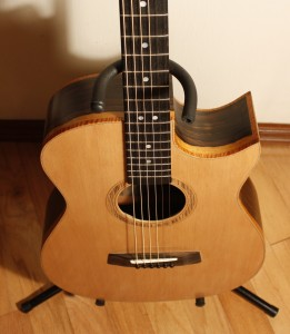 The action and string spacing are perfect for fingerstyle playing.